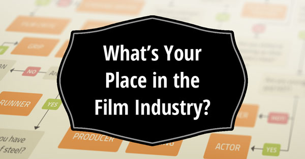 Whats Your Place In The Film Industry