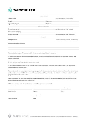 Download Production Documents and Templates