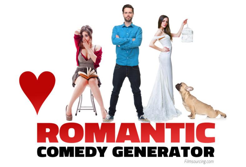 romantic comedy generator love
