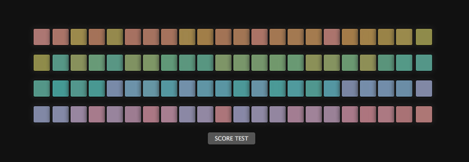 Filmsourcing -The Farnsworth Munsell hue test