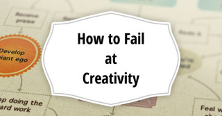 How to fail and how to succeed in creativity
