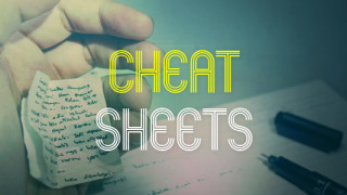 film industry cheat sheets