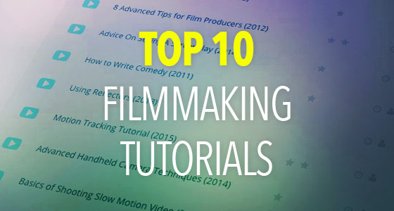 top-filmmaking-tutorials